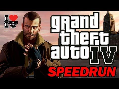 Grand Theft Auto IV Any% Speedrun