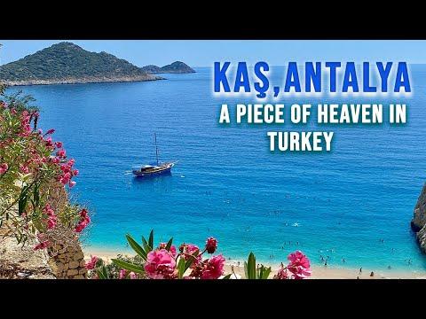 KAŞ | A Piece Of Heaven In ANTALYA, TURKEY