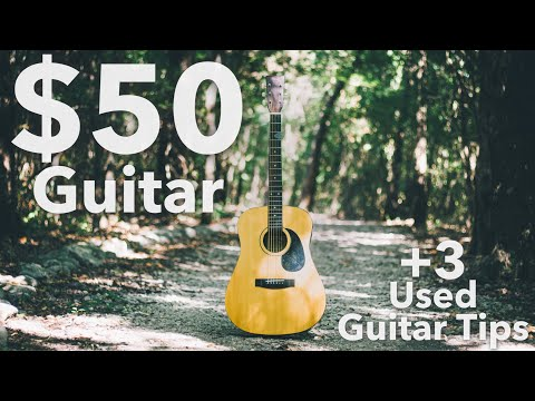 $50 Guitar + 3 Tips For Buying A Used Guitar!