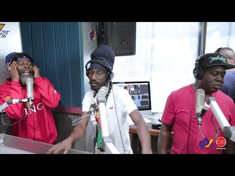 Capleton, Sizzla & Barrington Levy Live On The Breakfast Par