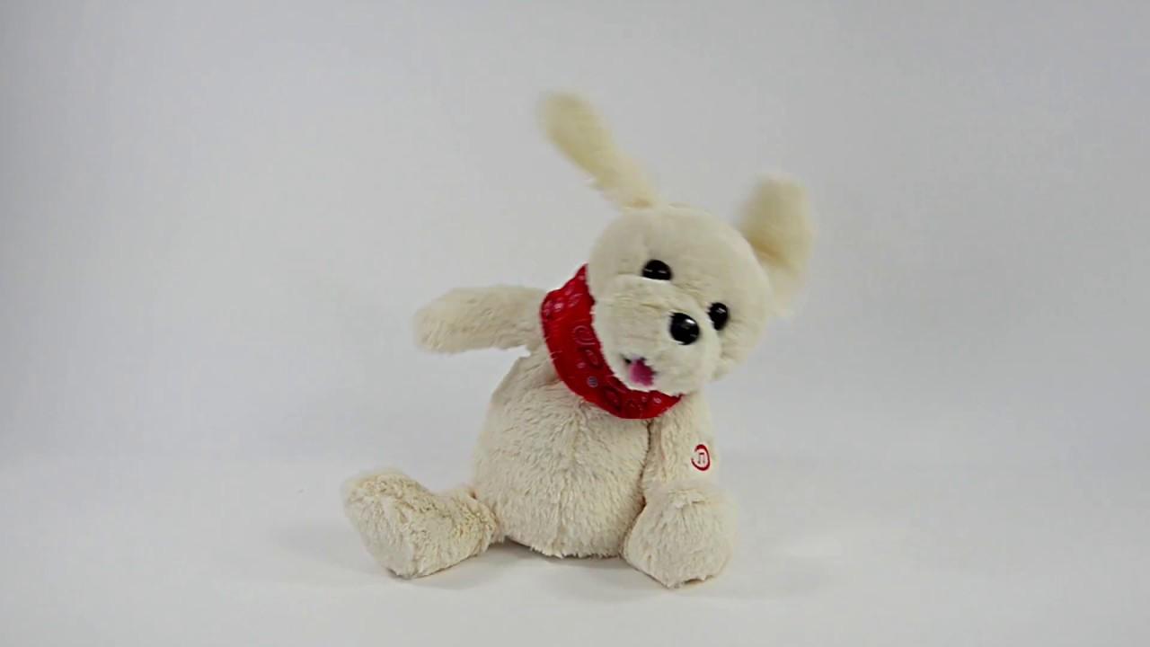 Singender Hund Armin, Hundetanz Song, 23cm, inkl. Batterien