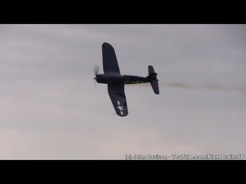 2017 World War II Weekend - Corsair Demo & Pacific Theatre Flight