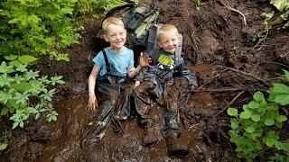 Camping Hiking \u0026 Fishing in Alaskan Rain Forest