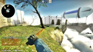 CS:GO · Zombie Escape Mod: ze_flying_world map