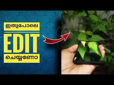 snapseed  double exposure 3d editing in malayalam|how to edit 3d in snapseed