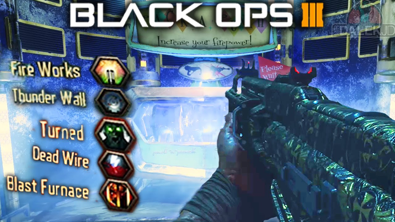 Black Ops 3 Zombies Multiple Pack A Punch All New Upgrade
