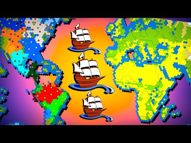 All New World Nations Battle for Earth! | Civilization (Civ 6)