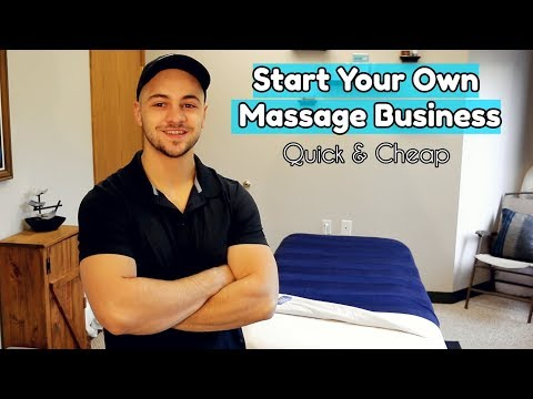 How to Start Your Own Massage Business
