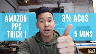 Amazon PPC Auto Campaign TRICK | The One AMZ Advertising Pay Per Click Strategy Everyone Should Run