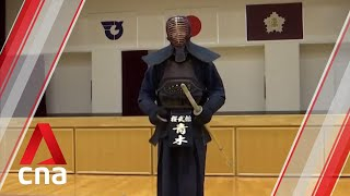 Japan's kendo grand master gears up for Olympic torch relay