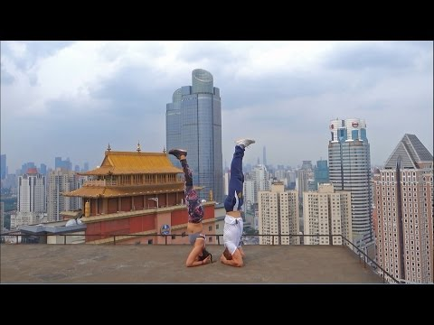 Calisthenics in China - Shanghai Urban Workouts Part One (街头健身 Part One)