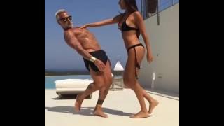 Итальянец 50 летний миллионер Джанлука Вакки взорвал интернет своим танцем(Джанлука Вакки — итальянский миллионер, набирающий популярность в «Инстаграме», благодаря зажигательному..., 2016-07-27T10:44:25.000Z)