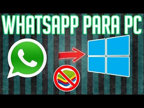Como instalar Whatsapp para PC No BlueStacks  No WEB