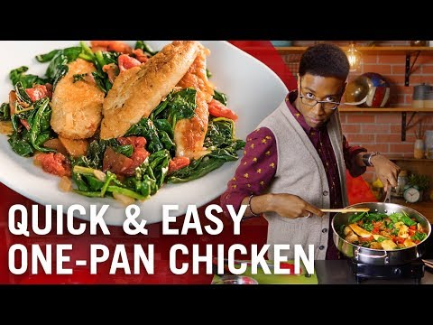 One-Pan Chicken With Spinach & Tomatoes | Flavor Makers Series | McCormick