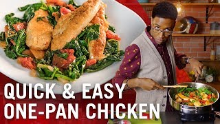 One-Pan Chicken with Spinach &amp Tomatoes  Flavor Makers Series  McCormick