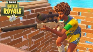 Fortnite - NEVER EDIT A DOOR AFTER YOU GET SNIPED IN THE FACE! - Daryus P