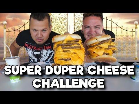 Super Duper Cheese Challenge Ft. Carl Fredrik Alexander Rask - Svensk Challenge