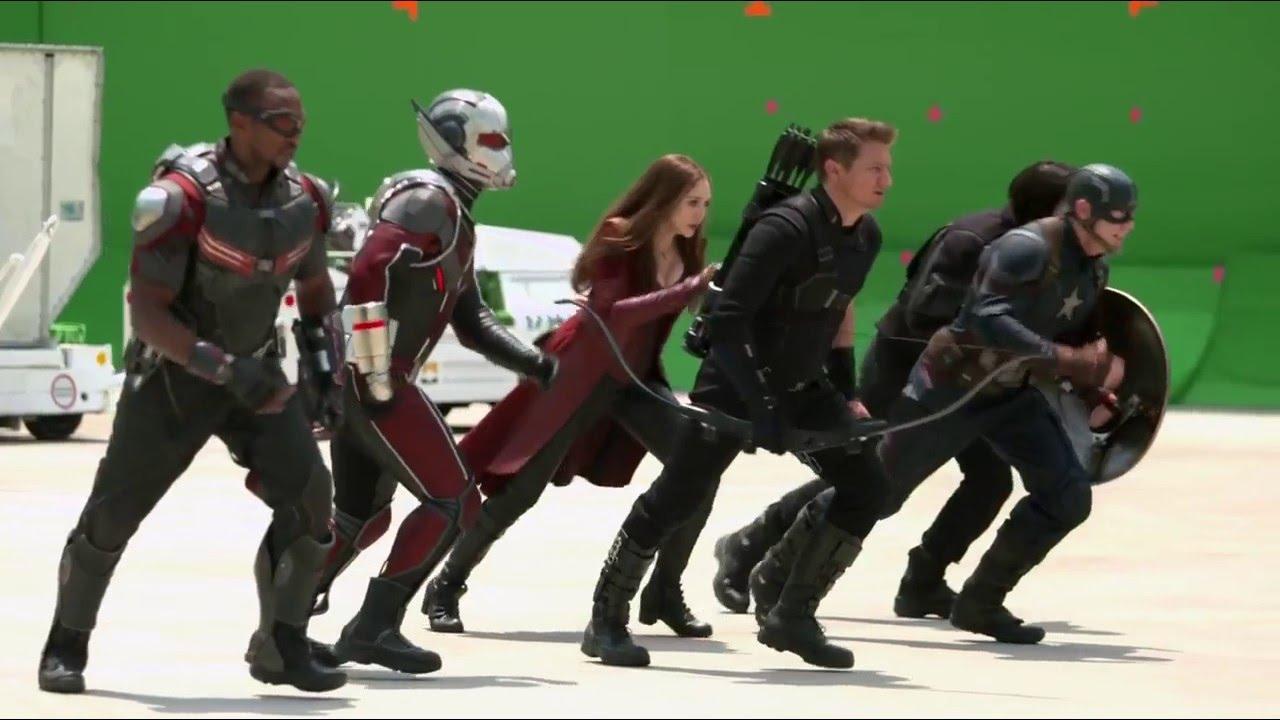 Captain America: Civil War Behind The Scenes, Meeting