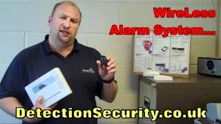Wire Less Alarm System [Detection Alarm Security] Business & Home Security UK