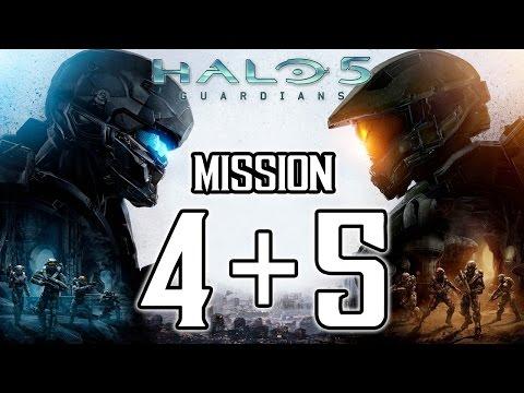 "Halo 5 Guardians - Walkthrough Mission 4 & 5 ""MERIDIAN STATION"" & ""UNCONFIRMED"" @ 1080p (60fps) HD �"