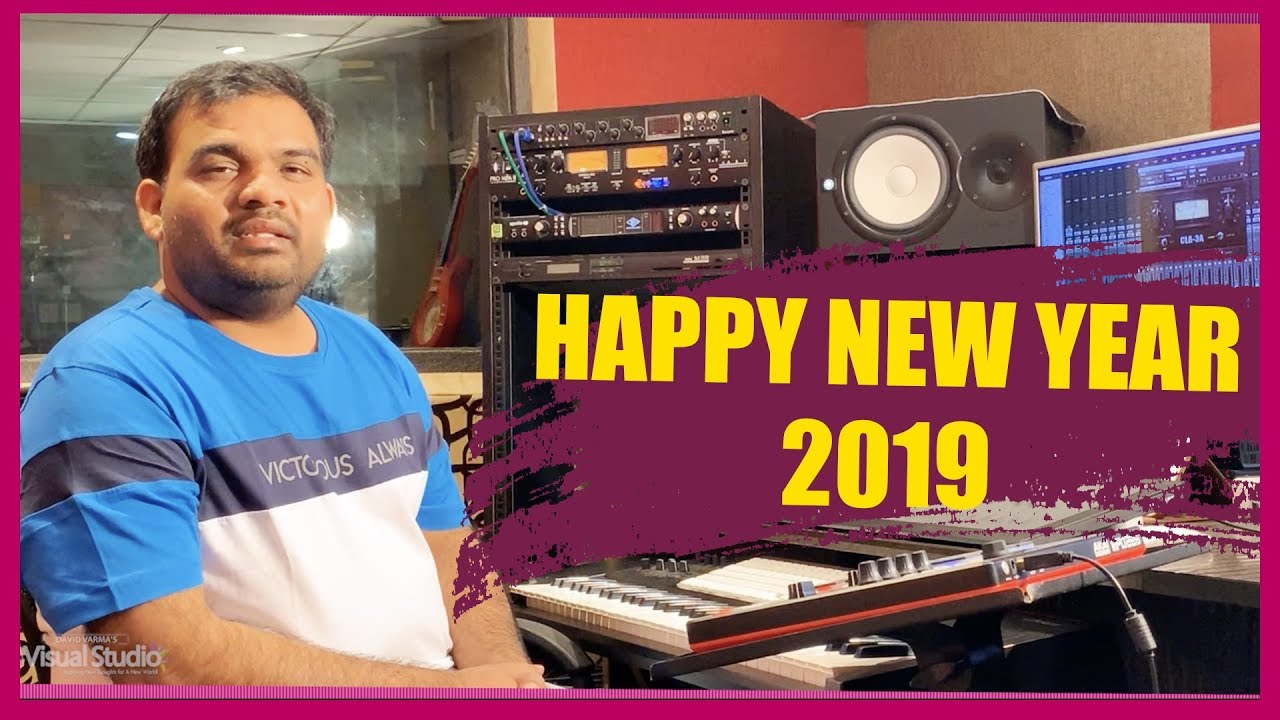 Happy New Year Wishes 2019 || Top Music Director Bro.KY Ratnam About Our Company||David Varma