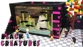 Lego Friends Aquarium: Black Monsters by Misty Brick.