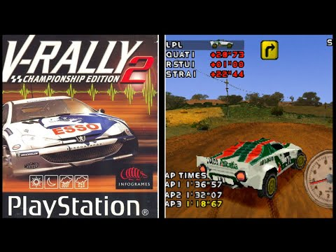 Need For Speed: V-Rally 2 - PSX Complete Playthrough #111【Longplays Land】