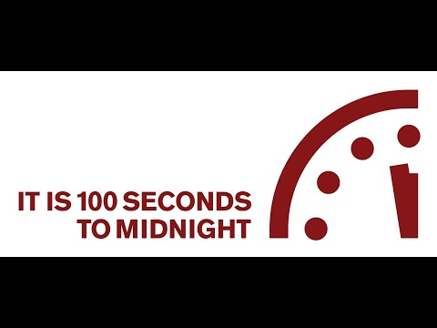 2020 Doomsday Clock Announcement Youtube