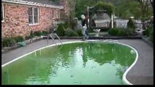 Removing Algae From a Swimming Pool : Shocking Swimming Pool Water