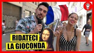 Chiedere ai Francesi di Ridarci la Gioconda - IN FRANCIA - [Esperimento Sociale] - theShow