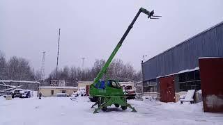 Аренда телескопического погрузчика Merlo Roto 38.16 СПб и ЛО