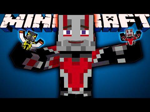 ЧЕЛОВЕК-МУРАВЕЙ В MINECRAFT! Обзор мода Minecraft