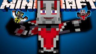 ЧЕЛОВЕК-МУРАВЕЙ В MINECRAFT! Обзор мода Minecraft #113 'Ant Man'