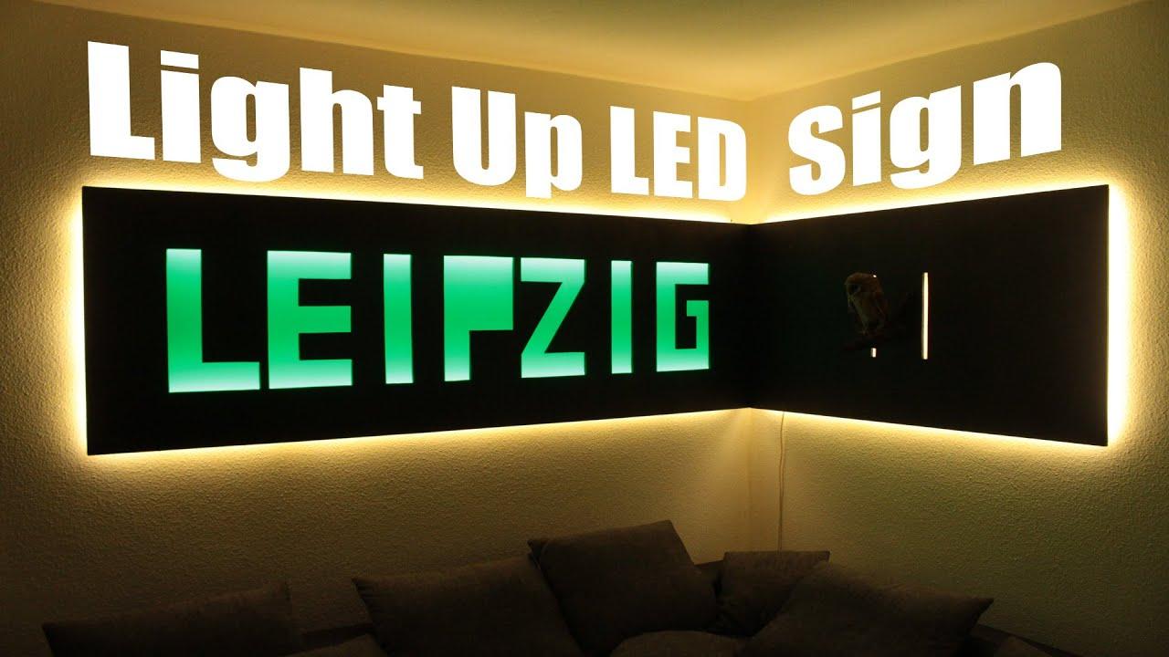 How to make a Huge Light Up LED Sign