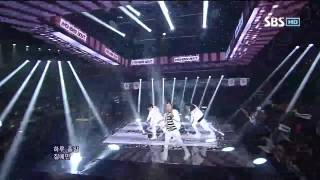 121021 Wonder Boyz - Open The Door @SBS Inkigayo