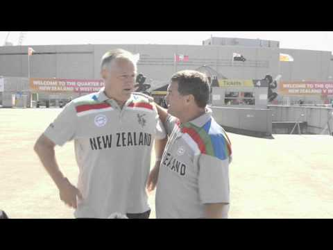 Latham and Larsen talk #NZvSA