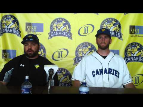 Sioux Falls Canaries Post Game Press Conference