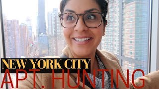 NYC APARTMENT HUNTING - ONE Bedroom  |  New York Lifestyle  |  VLOG 3, 2018
