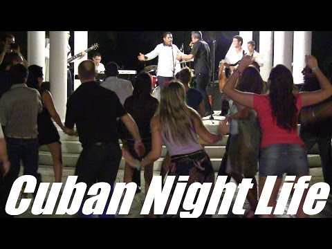 Travel to the Caribbean: My Trip to CUBA - Night Life in Hotel Las Dunas