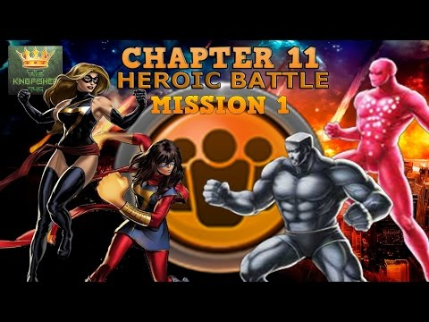 Marvel Avengers Alliance Season 2: Chapter 11 Mission 1 Heroic Battle