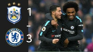 Huddersfield vs Chelsea  All Goals highlights 2018 HD