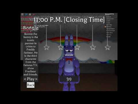 How can get 39 in roblox!! Fredbear and Friends Family Restaurant