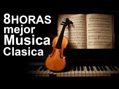 8 HORAS de la Mejor Musica Clasica | Beethoven, Bach, Mozart | Musica clasica HD