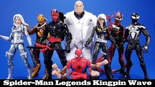Marvel Legends Kingpin Series Hasbro Spider-Man Action Figure Review