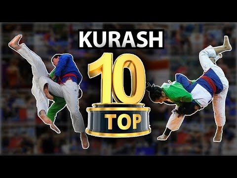 Top 10 Kurash Higlights! Eng yaxshi 10 ta kurash! Kuraş En İyi 10 Hareket!