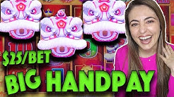 ⚡HUGE HANDPAY JACKPOT⚡ on Happy Lantern Lightning Link Slot Machine!