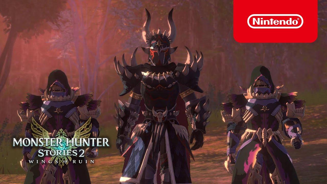 Monster Hunter Stories 2: Wings of Ruin - Trailer Summer Game Fest (Nintendo Switch)