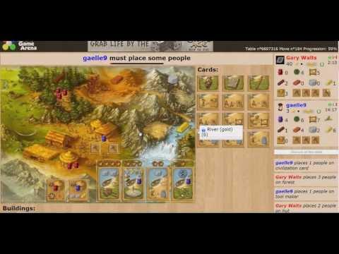 Capital G vs Board Game Arena #6 Stone Age