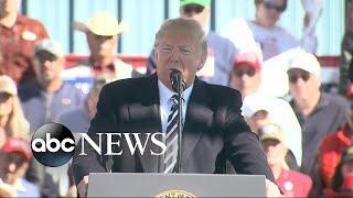 Trump takes shots at Joe Biden during Nevada rally