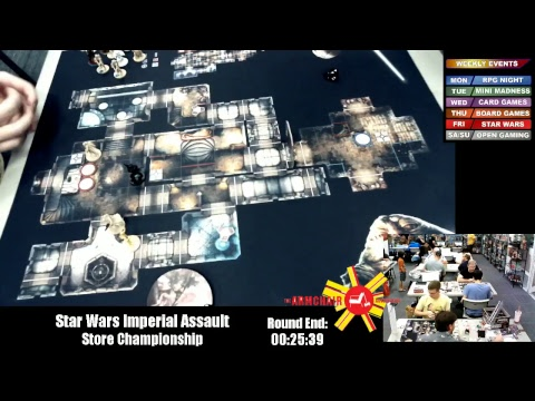 Star Wars Imperial Assault Store Championship Youtube